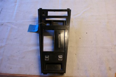 1977-1982 Corvette C3,Centre Shifter Console Plate W/Rear Defrost and Window Switches,Used Fair